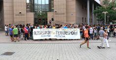 200 personas participan en una concentración contra la imputación de terrorismo en Alsasua