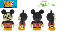 Ink & Paint Series Mickey Mouse Disney Vinylmation 3'' Figure