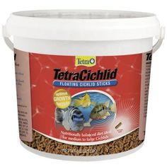 TetraCichlid Cichlid Sticks, 6.61 lbs
