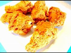 Make Cold Fried Chicken Perfectly Crispy and Yummy Again - DELICIOUS! - YouTube