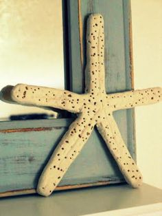 Make your own starfish with: 1 Cup Flour, 1 Cup Salt, 1/2 Cup Water plus more if you need