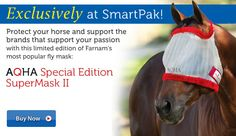 AQHA Fly Mask, Exclusively at SmartPak