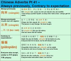 Learn Mandarin Grammar Chinese Sentences, Chinese Phrases, Chinese Words, Japanese Language Learning, Chinese Language, German Language, Mandarin Lessons, Learn Mandarin, Chinese Lessons