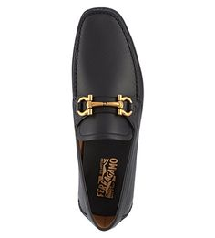 FERRAGAMO Parigi driving shoes (Black