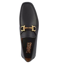 FERRAGAMO Parigi driving shoes (Black Mens Fashion Shoes 2839c571f4