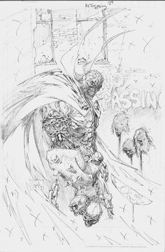 Spawn #129 Pencils by Greg Capullo