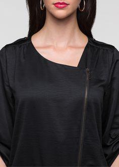 Vestido Vestido preto encomendar agora na loja on-line bonprix.de  R$ 129,00 a partir de Vestido com forro e zíper na parte da frente. Seguir as instruções ...