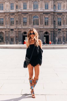 Summer #style. Off the shoulder romper <3 rocky!