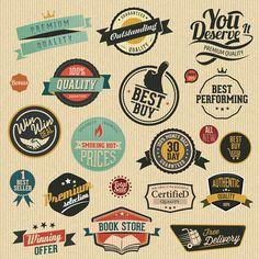 Vector Vintage Label Sets 2: http://www.creativebeacon.com/2-vector-vintage-label-sets/?goback=%2Egde_95409_member_5794802407514857473#%21