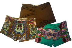 Marrakesh Silk Boyshorts Three-Pack Set with Gift Box - Pure Silk Shorts for Underwear, Yoga, Loungewear, and Pajamas