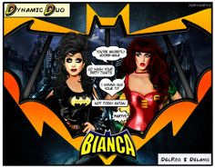 Holy Dynamic Duo! - Bianca is everything I want to be when I'm 57. ~ Adore Delano. I love their relationship together of mentor and n...