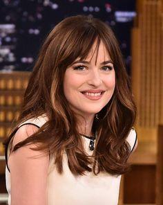 #DakotaJohnson absolutely stunning on The Tonight Show. #FiftyShades