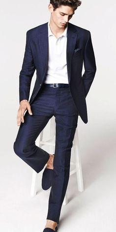 Arthur Gosse men's style : casual suit