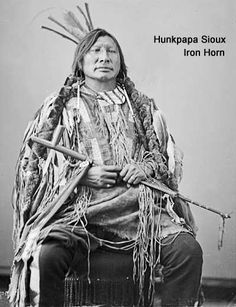 Hunkpapa Sioux warrior Iron Horn