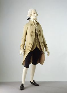 Suit 1775-1785 The Victoria & Albert Museum