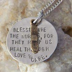 Cute nurse necklace!