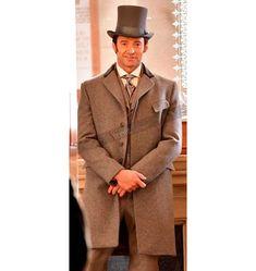 Hugh Jackman The Greatest Showman P.T. Barnum Trench Coat #HughJackman