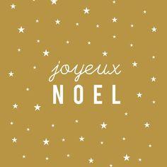 """Image of Carte Postale """"Joyeux Noël"""" (étoile/VIEIL OR)"""