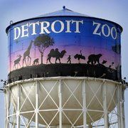Detroit Zoo : I've been here a few times on a field trip and with some friends. Really enjoyed it, and thought that they kept it pretty clean. Hoping to take my grandson in June when I get out to see him. The zoo is a great place for kids to go see the animals, explore the butterfly exhibit and grab a bite to eat.