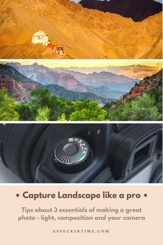 a guide to take beautiful landscape photos like pro photographers Light Photography, Photography Tips, Landscape Photography, Travel Photography, Family Adventure, Adventure Travel, Photo Lighting, Zion National Park, Packing Tips For Travel