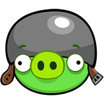 Corporal Pig (also known as Helmet Pig or General Pig) (as in Angry Birds Toons revealed in the...