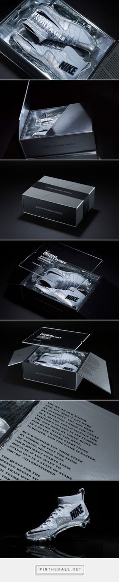 Nike Football Untouchable Shoes Packaging by Hovercraft Studio »  Retail Design Blog - created via https://pinthemall.net