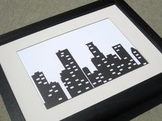 Minneapolis skyline print