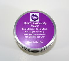 A personal favorite from my Etsy shop https://www.etsy.com/listing/287549805/sea-mineral-face-mask-organic-3oz Ocean vegetables for youthful looking skin? Absolutely! No need for expensive facials at the spa. http://www.marjsnaturals.com/