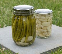 Pickled garlic scapes and pickled garlic will definitely be on the list of things to make. My mouth's watering already.