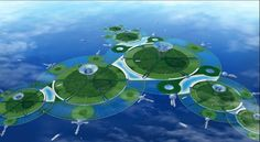 Japanese scientists are working on a concept to build carbon-neutral, self-sufficient floating cities