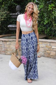 Design Life Diaries: Lace Crop Top #summer #beads