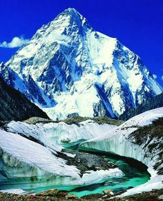 K 2 mountain Pakistan worlds second tallest mountain