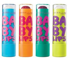 Maybelline Baby Lips...this stuff really works