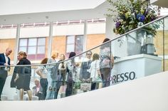 In need of a caffeine pick-me-up? Find @nespresso on the Third Floor, Centre Dome #Focus16