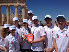 Always nice to get a Thank You Photo from customers and the shot in this post was taken by students from Kenilworth School who were kitted out with Canterbury England Stash for their World School Games trip to Athens earlier this month! Looking good guys!!