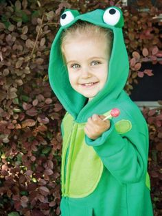 Hoodie Halloween Costume: Frog | Easy Crafts and Homemade Decorating & Gift Ideas | HGTV