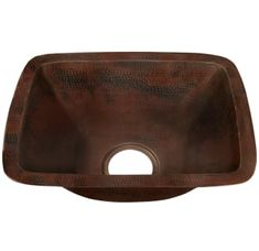 "View the Miseno MC-NA200 Rectangular 12"" Copper Drop-In or Undermount Bar Sink at Build.com."
