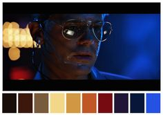 Color Palettes From Famous Movies Show How Colors Set The Mood Of A Film (Cinema Palettes: Color palettes from famous movies - Top Gun)
