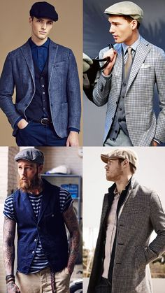 Men's Flat Caps Outfit Inspiration Lookbook