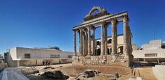 Nuevo marco para el Templo de Diana, Mérida #arquitecturaextremadura