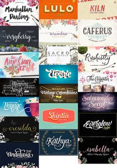What girl doesn't love a good script font? If you're like me, you freaking love them! How much would you pay for a gorgeous, premium script font? Better yet, how much would you pay for 21 fabulous ...