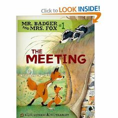 1st book in graphic novel series for kids. Mrs. Fox and Mr. Badger decide to live together, but their kids don't like the new arrangement. Good book about step families, for younger school age children.