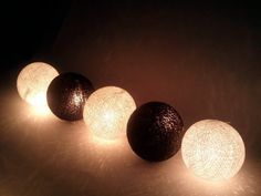 Black and White Cotton Ball String Lights Patio Wedding and Party Decoration (20pcs./set) by I Love Handicraft, http://www.amazon.com/dp/B0095N8WWQ/ref=cm_sw_r_pi_dp_p8Rlrb15872SZ