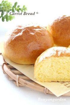 HB使用♡キャロットパン(にんじんパン)