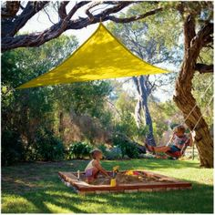 Party Sail Collection. Super cheap shade for deck.