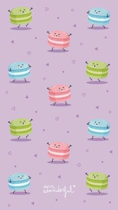 Wonderful wallpapers that you want to put on all your devices - Michelle Gaines Cute Wallpaper Backgrounds, Wallpaper Iphone Cute, Cellphone Wallpaper, Funny Wallpapers, Screen Wallpaper, Cool Wallpaper, Pattern Wallpaper, Mr Wonderful, Cupcakes Wallpaper