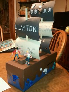 Fun Valentine box for a boy! My son enjoyed making it! And so did Mom......