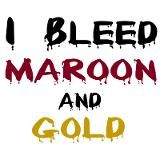 For our passionate Norwich fans! I bleed maroon and gold!