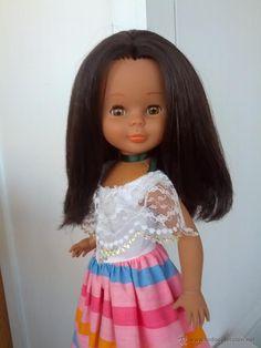 Muñeca Nancy mulata mexicana en todocoleccion