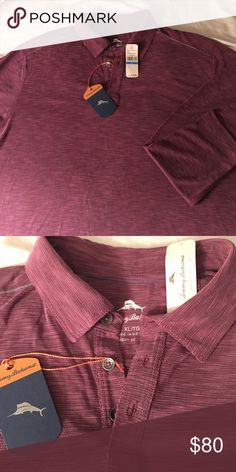 🎉SALE NWT Tommy Bahamas Mens XL long sleeve NWT Tommy Bahama mens XL long sleeve shirt.  Looks great with dress pants or jeans! Tommy Bahama Shirts Tees - Long Sleeve